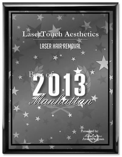 best laser hair removal award nyc